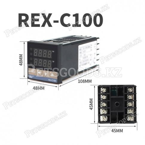 Контроллер температуры REX-C100 (Relay, релейный выход)