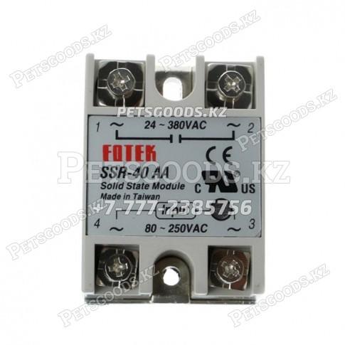 Твердотельное реле SSR40AA управления AC 220V40A переменного тока