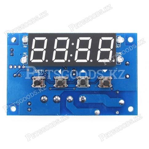 Терморегулятор электронный с часами