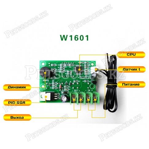 ПИД регулятор температуры W1601 на 12вольт