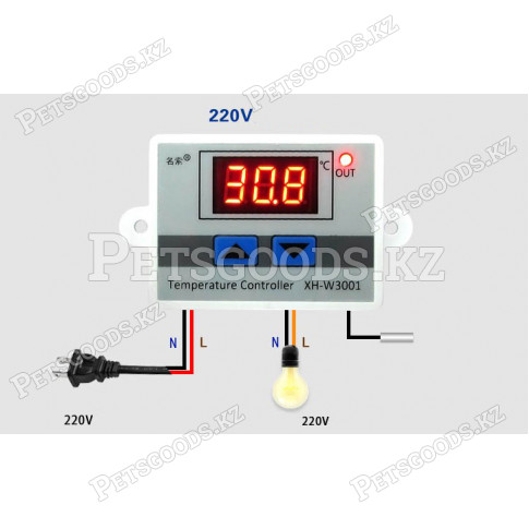Терморегулятор электронный для инкубатора
