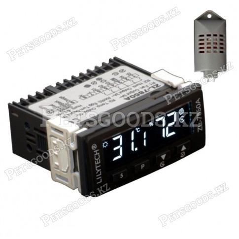 Терморегулятор LILYTECH ZL-7850А температура, влажность 2 таймера