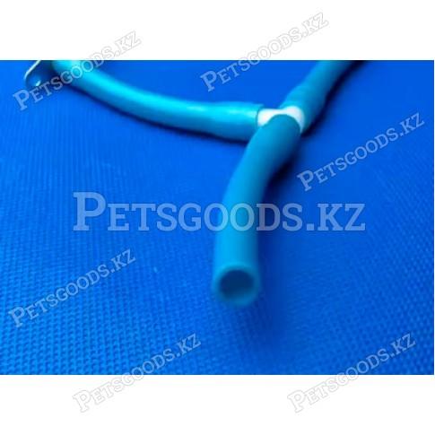 Шланг 10 мм синий силиконовый